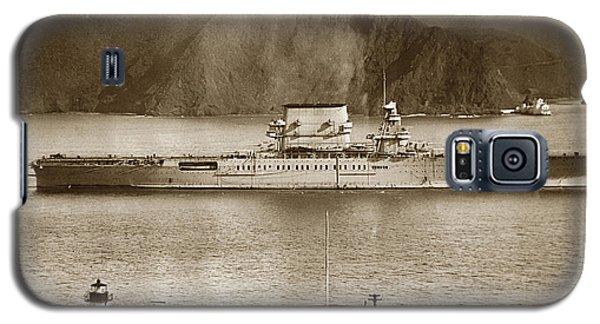 U. S. S. Lexington Cv-2 Fort Point Golden Gate San Francisco Bay California 1928 Galaxy S5 Case