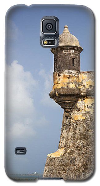Fortified Walls And Sentry Box Of Fort San Felipe Del Morro Galaxy S5 Case