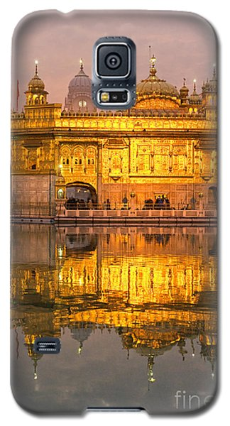 Golden Temple In Amritsar - Punjab - India Galaxy S5 Case by Luciano Mortula