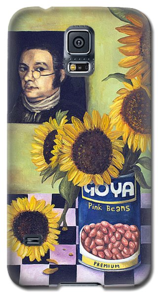Cyclops Galaxy S5 Case -  Goyas by Leah Saulnier The Painting Maniac