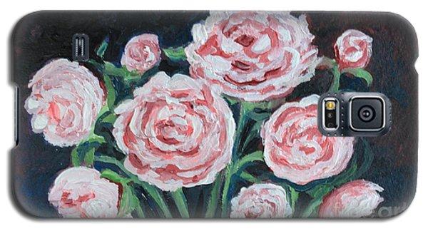 Graceful Peonies Galaxy S5 Case by Elizabeth Robinette Tyndall