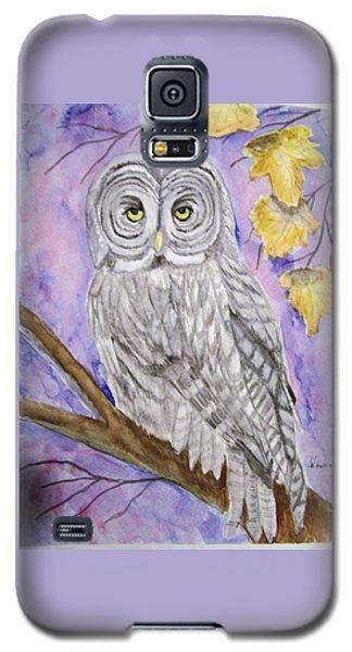 Grey Owl Galaxy S5 Case