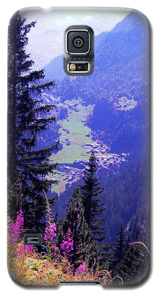 Galaxy S5 Case featuring the photograph  High Mountain Pastures by Giuseppe Epifani
