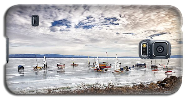 Ice Boats On Lake Pepin Galaxy S5 Case