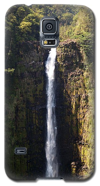 Island Waterfalls Galaxy S5 Case by Athala Carole Bruckner