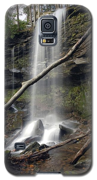 Jocaby Falls Behind The Fallen Trees Galaxy S5 Case