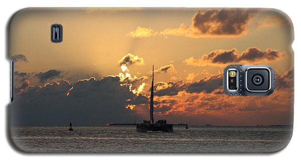 Galaxy S5 Case featuring the photograph Marelous Key West Sunset by Christiane Schulze Art And Photography