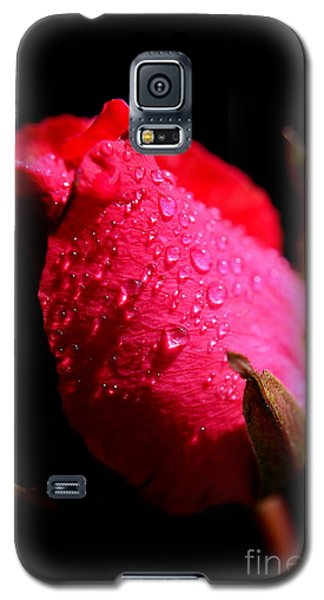 Galaxy S5 Case featuring the photograph  La Rose by Michelle Meenawong