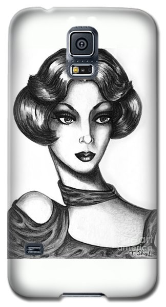Lady Galaxy S5 Case