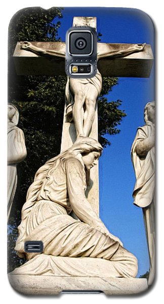 In Mourning...two Galaxy S5 Case by Tom Druin