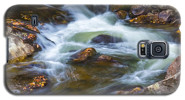 Galaxy S5 Case featuring the photograph  Linville Falls  by Patricia Schaefer