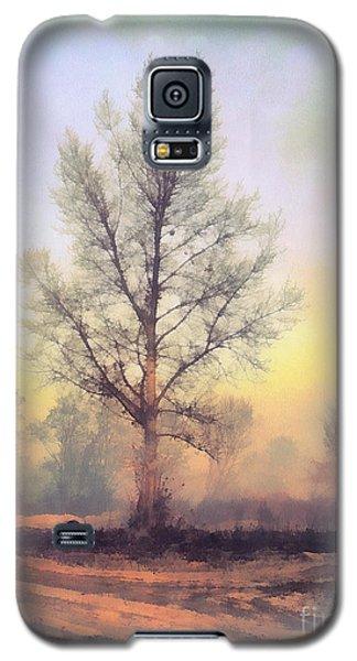 Lonely Tree Galaxy S5 Case by Odon Czintos