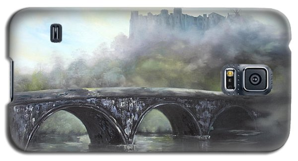 Ludlow Castle In A Mist Galaxy S5 Case