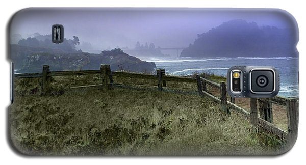 Mendocino Cliff Side Foggy Day   Galaxy S5 Case
