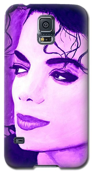 Michael Jackson In Purple Galaxy S5 Case