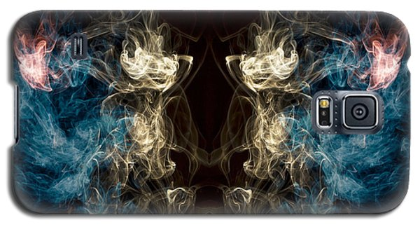 Minotaur Smoke Abstract Galaxy S5 Case