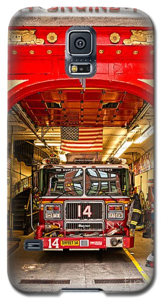 New York Fire Department Engine 14 Galaxy S5 Case by Luciano Mortula