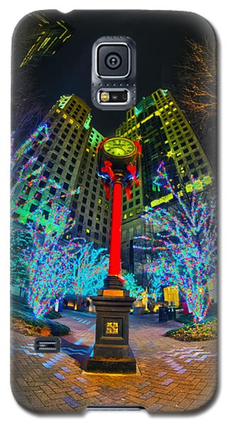 Nightlife Around Charlotte During Christmas Galaxy S5 Case