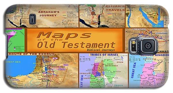Old Testament Maps Galaxy S5 Case by Bob Pardue