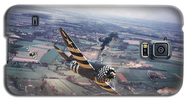 P47- D-day Train Busters Galaxy S5 Case by Pat Speirs