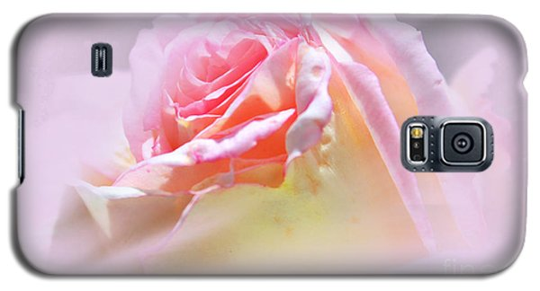 Peaceful Pink Rose Haze Galaxy S5 Case