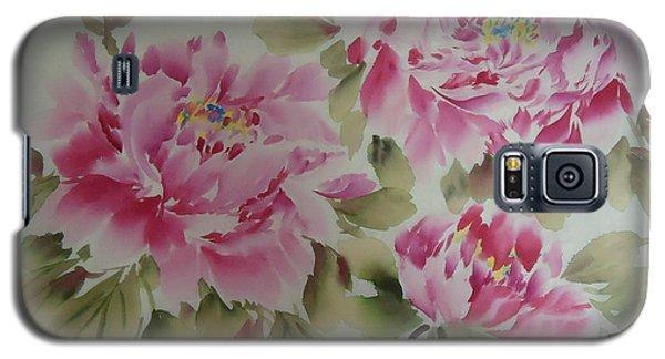 Pink  Peony 014 Galaxy S5 Case