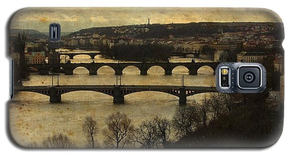 Prague Landscape With Vltava River Galaxy S5 Case