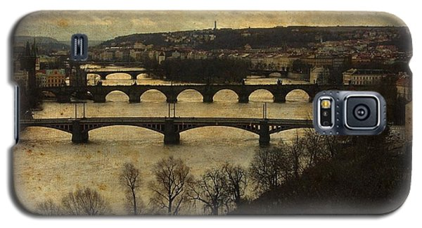 Vintage Prague Vltava River Galaxy S5 Case