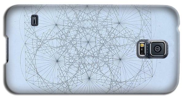 Quantum Snowflake Galaxy S5 Case