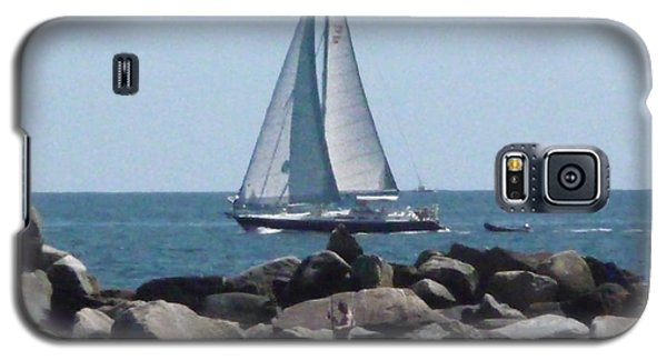 Galaxy S5 Case featuring the photograph  Rhode Island Coastline by Margie Avellino