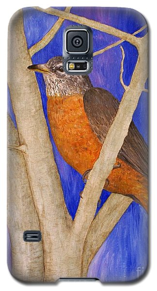 Galaxy S5 Case featuring the painting  Rob by Jane Chesnut