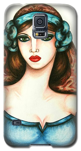 Roman Woman Galaxy S5 Case