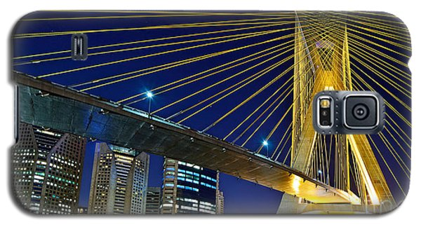 Sao Paulo's Iconic Cable-stayed Bridge  Galaxy S5 Case