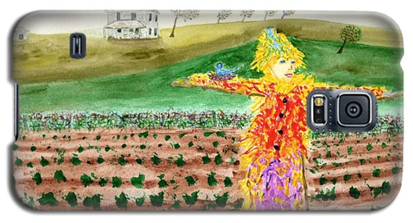 Scarecrow With Nesting Companion Galaxy S5 Case