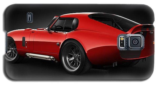 Shelby Daytona - Red Streak Galaxy S5 Case by Marc Orphanos