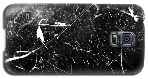 Galaxy S5 Case featuring the photograph  Spidernet by Yulia Kazansky
