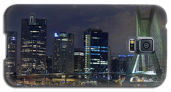 Supermoon In Sao Paulo - Brazil Skyline Galaxy S5 Case
