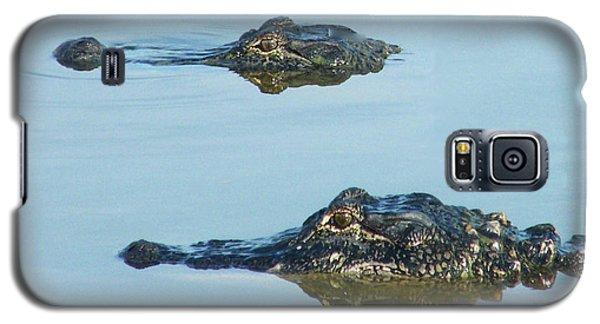 Galaxy S5 Case featuring the photograph  Swamp Patrol by Lizi Beard-Ward