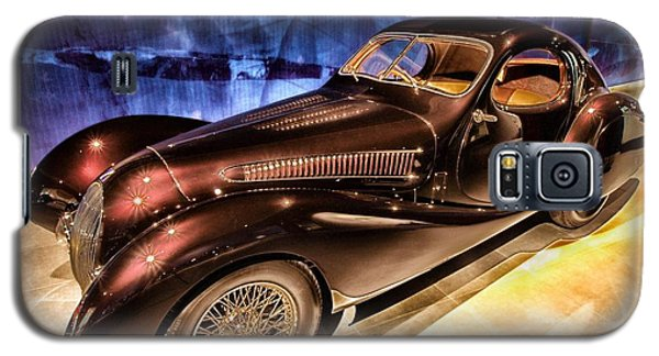 Galaxy S5 Case featuring the photograph  Talbot Lago 1937 Car Automobile Hdr Vehicle  by Paul Fearn