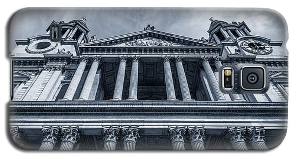 The Columns Of St Paul's Cathedral West Facade From Ludgate Hil Galaxy S5 Case