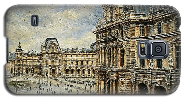 The Louvre Museum Galaxy S5 Case by Joey Agbayani