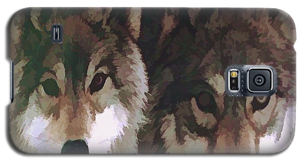 Together Forever Wolves Galaxy S5 Case by Debra     Vatalaro