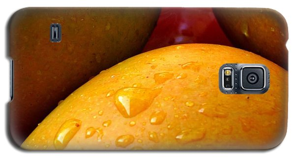Galaxy S5 Case featuring the photograph  Tres Mangoes by Greg Allore