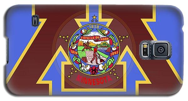 U Of M Minnesota State Flag Galaxy S5 Case by Daniel Hagerman