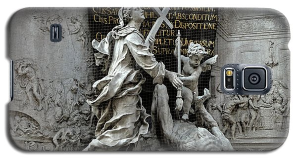 Vienna Austria - Plague Monument Galaxy S5 Case by Gregory Dyer