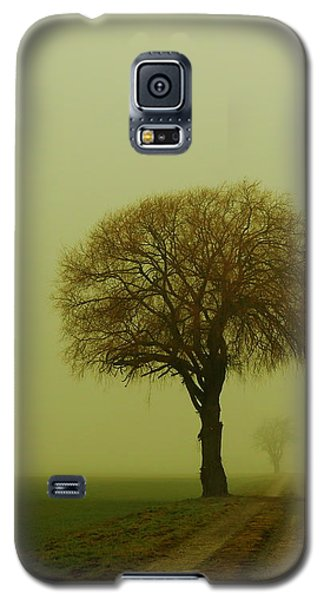 Galaxy S5 Case featuring the photograph  Walk In The Fog by Franziskus Pfleghart