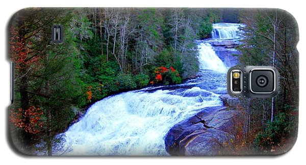 Waterfall At Dupont Forest Nc 2 Galaxy S5 Case by Annie Zeno