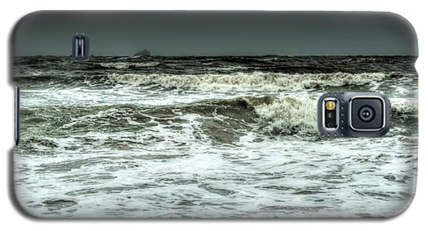 Galaxy S5 Case featuring the photograph  Waves by Michelle Meenawong
