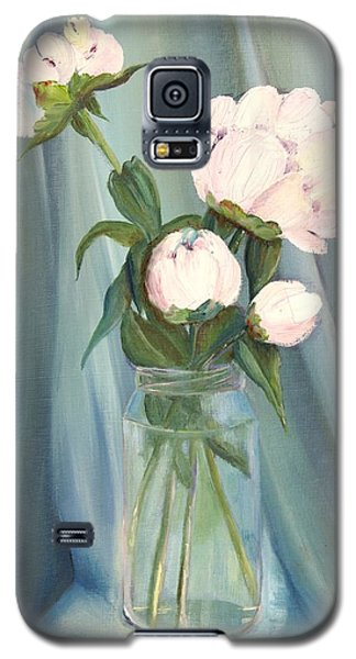 White Flower Purity Galaxy S5 Case