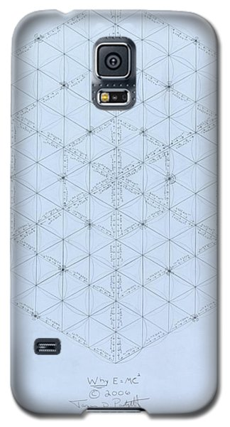 Why Energy Equals Mass Times The Speed Of Light Squared Galaxy S5 Case